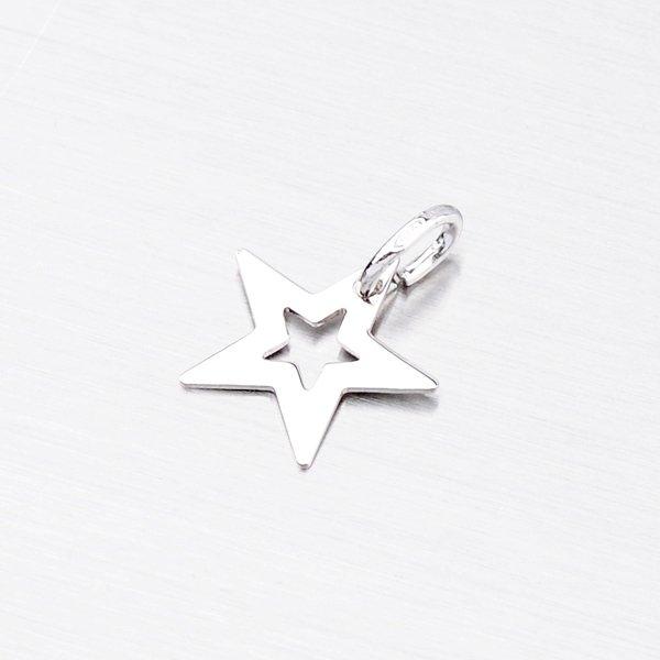 Stříbrný přívěsek - Hvězdička MPN8454B