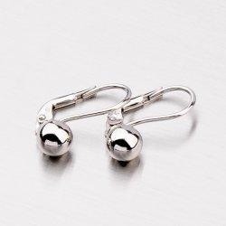 Stříbrné náušnice - visací MORM6008D6