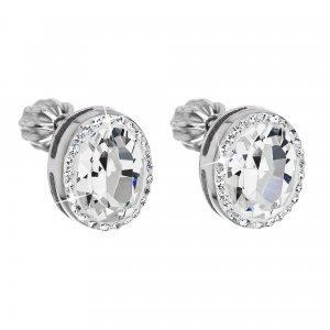 Náušnice se Swarovski krystaly 31165.1 Krystal