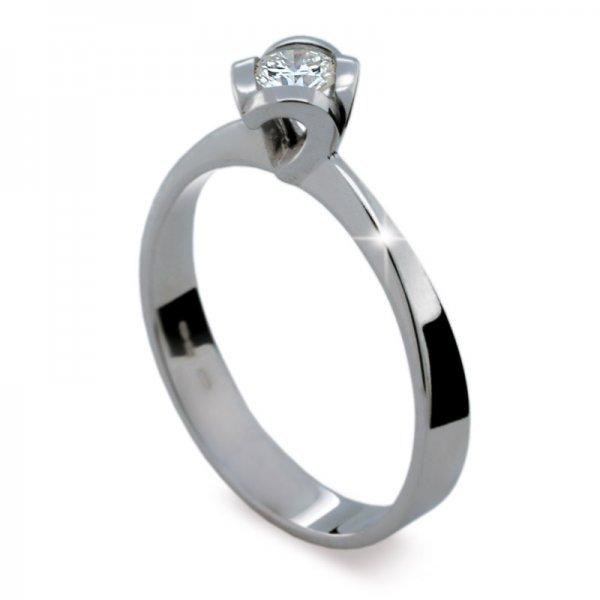 Zásnubní prsten s diamantem ZP1857