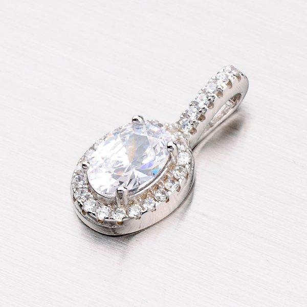 Zářivý stříbrný přívěsek PXX18150003