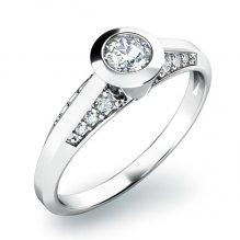 Dámský prsten s diamanty 10798D