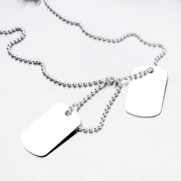Náhrdelník s destičkami N1601027-1132-SLX