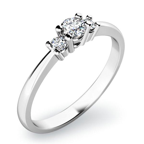 Dámský prsten s diamanty 10843D