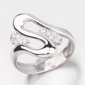 Masivní stříbrný prsten HK-514-OKS