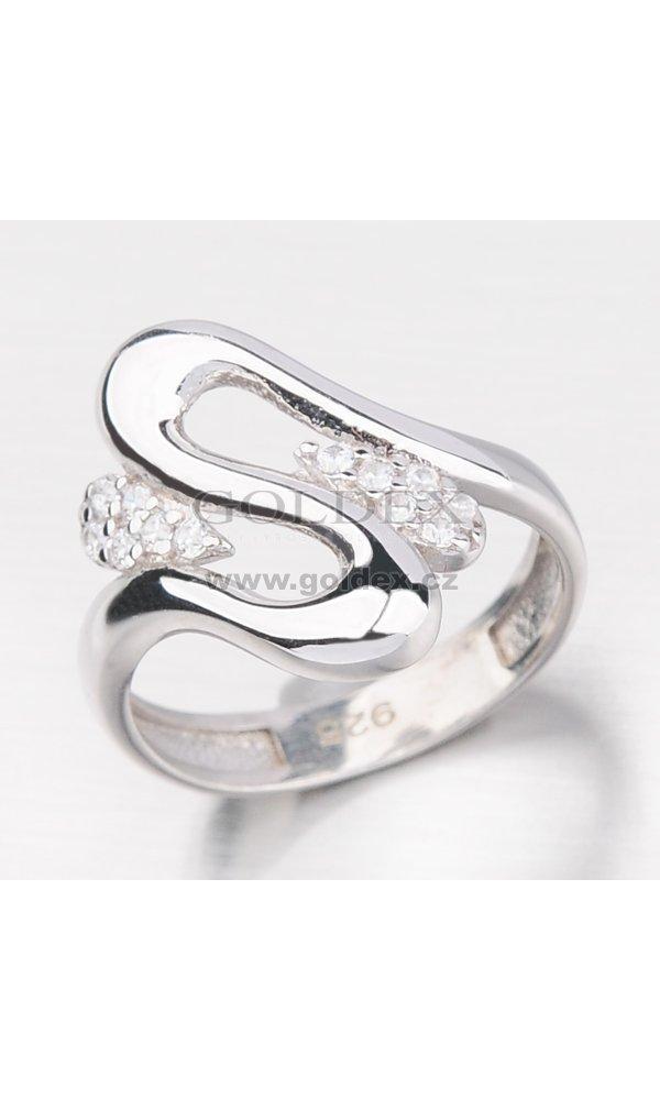 a808fa670 Masivní stříbrný prsten HK-514-OKS : Goldex.cz