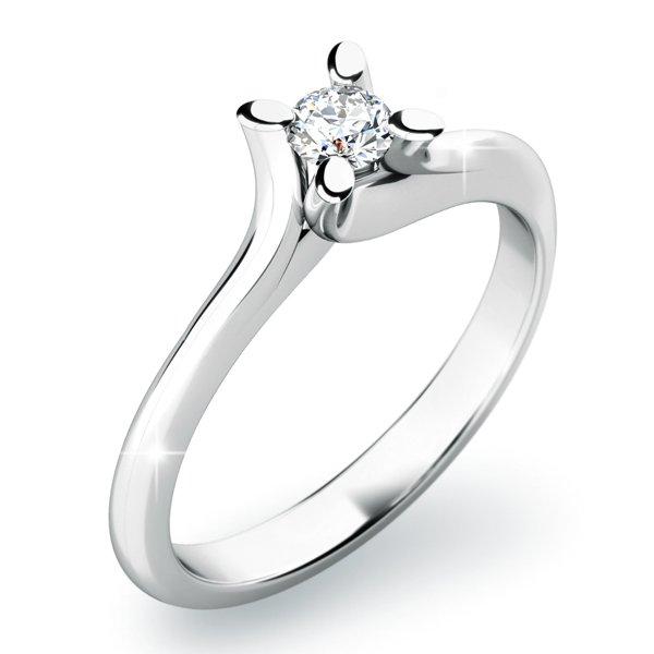 Dámský prsten s diamanty 10806D