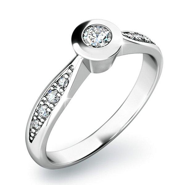 Dámský prsten s diamanty 10811D