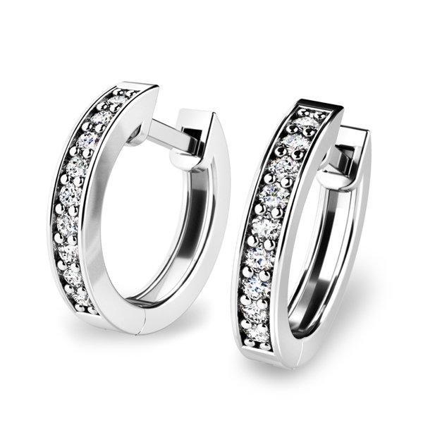 Diamantové kruhy 10836-B