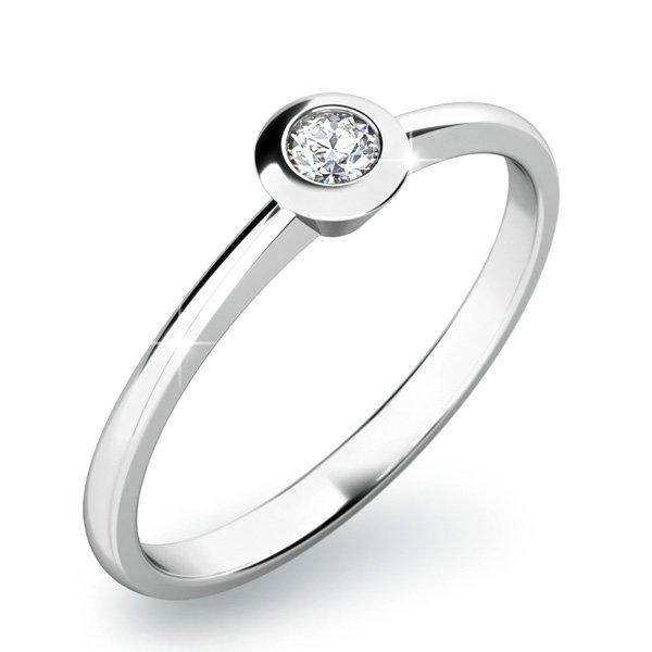 Dámský prsten s diamantem 10807D