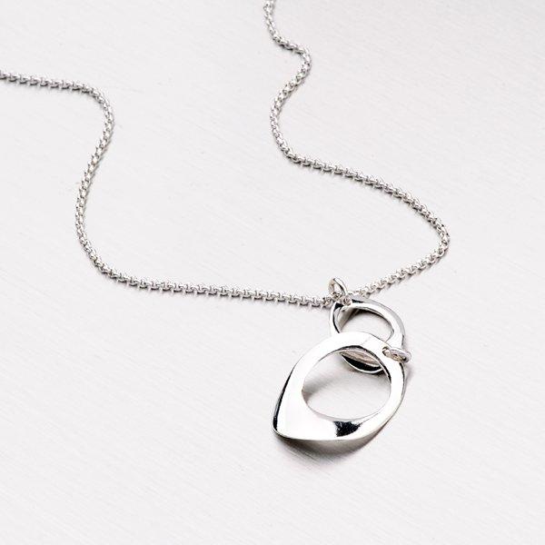 Náhrdelník ze stříbra N1401585-0331-SLX