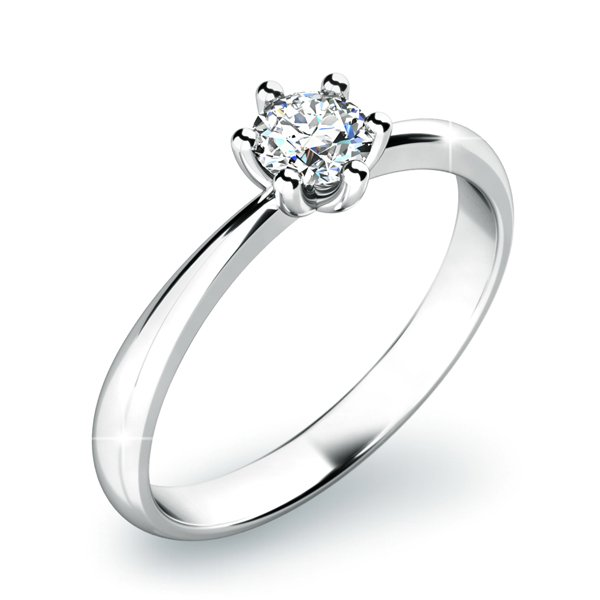 Dámský prsten s diamantem 10819D
