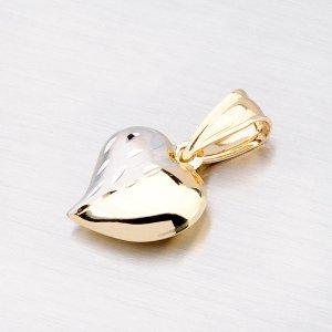 Zlaté srdíčko jako přívěsek 13-124