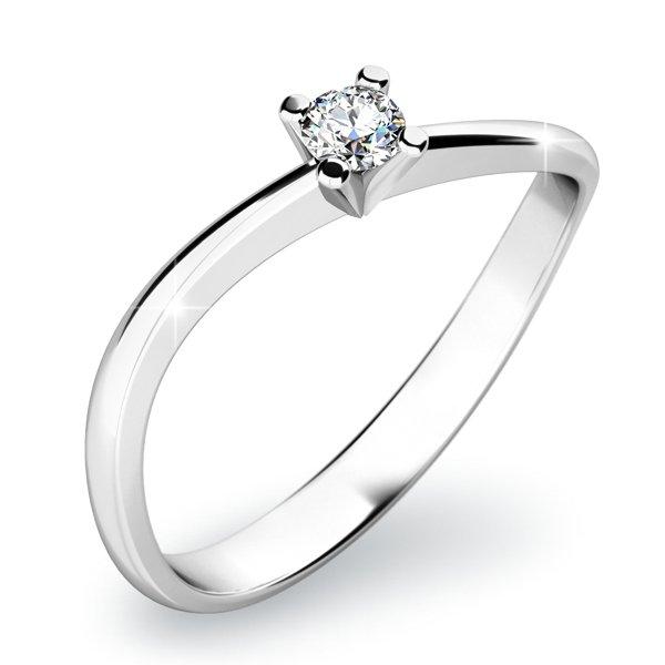 Dámský prsten s diamantem 10841D