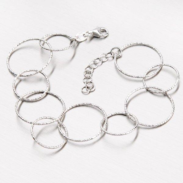 Stříbrný náramek B1600010-0019-SLX