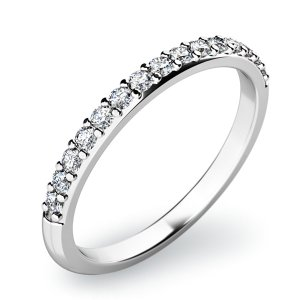 Dámský prsten s diamanty 10845D
