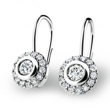 Diamantové náušnice 10821-B