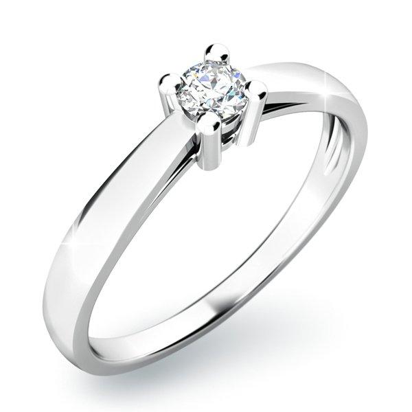 Dámský prsten s diamantem 10797