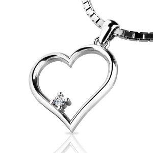 Zlatý přívěsek s diamantem 10875-B