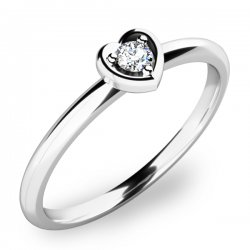 Zásnubní prsten se zirkonem ZP-10849