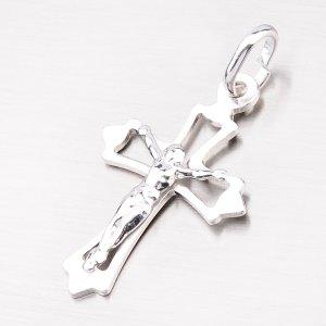 Stříbrný křížek s Ježíšem 92003043-18-SLX