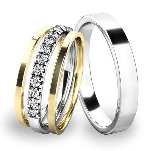 Set snubních prstenů SP-61061-SET01