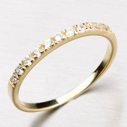 Dámský prsten se zirkony DZ1670-ZL