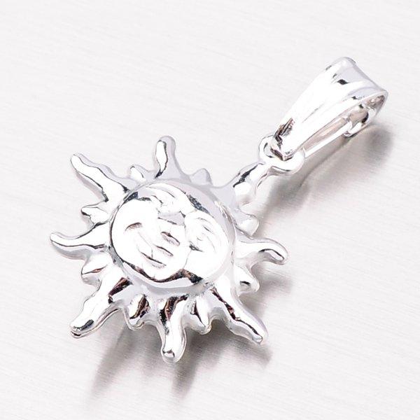 Stříbrný přívěsek ve tvaru slunce P2000438-1132-SLX