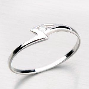 Decentní prsten ze zlata DZ1138-B
