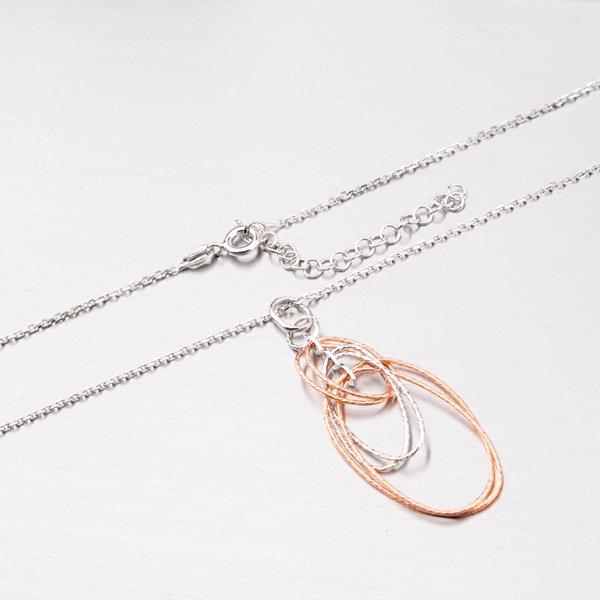 Stříbrný náhrdelník 92003043-43-SLX