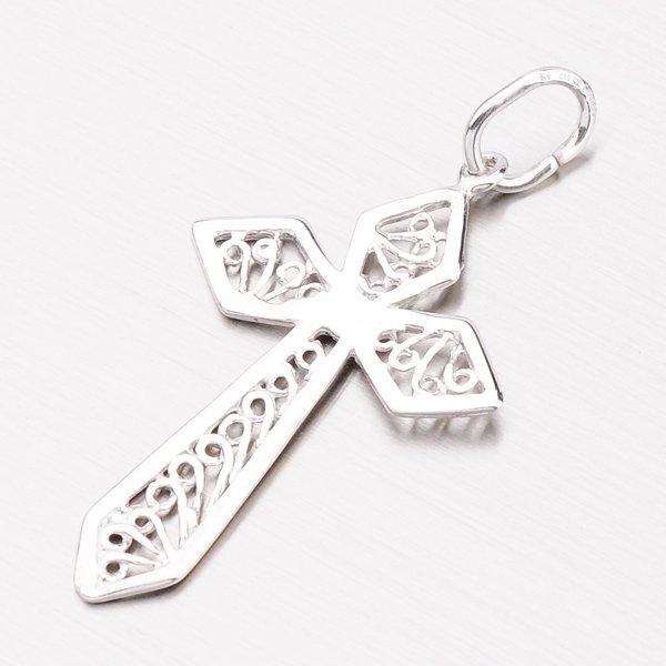 Stříbrný přívěsek ve tvaru kříže 92003043-27-SLX