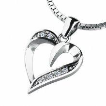 Přívěsek s diamanty 10879-B