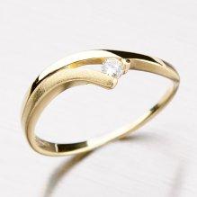 Krásný prsten se zirkonem DZ1718-ZL