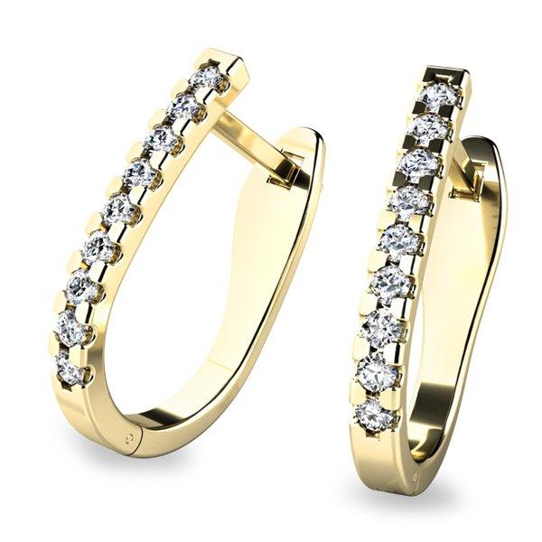 Diamantové kruhy 10862-ZL