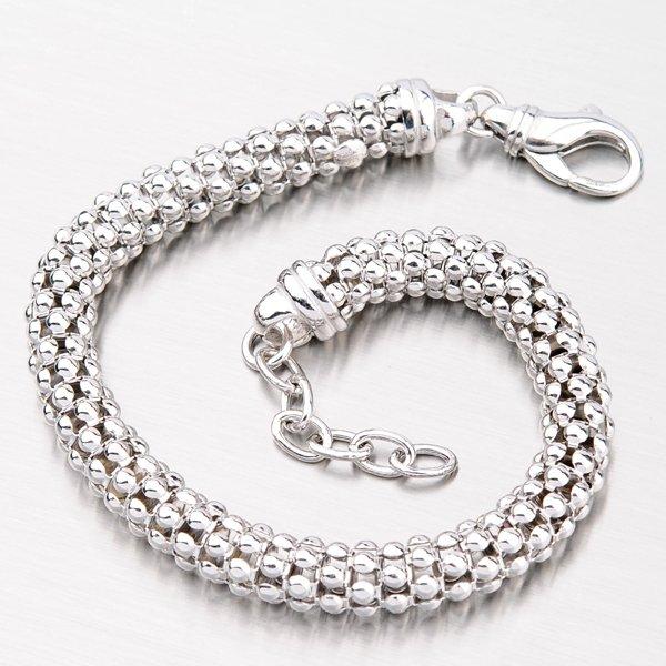Krásný stříbrný náramek B1300509-1264-SLX