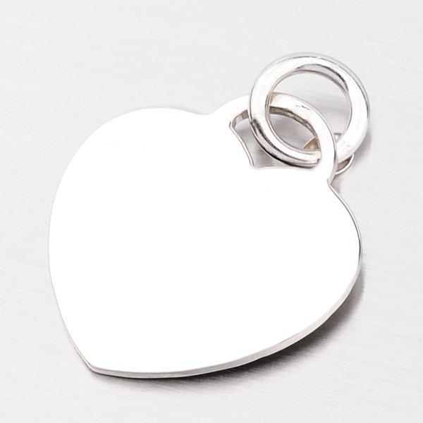 Stříbrné srdíčko s možností rytiny P1400236-1264-SLX