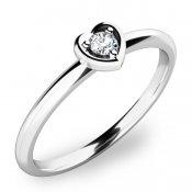 Zásnubní prsten s diamantem ZP-10849D
