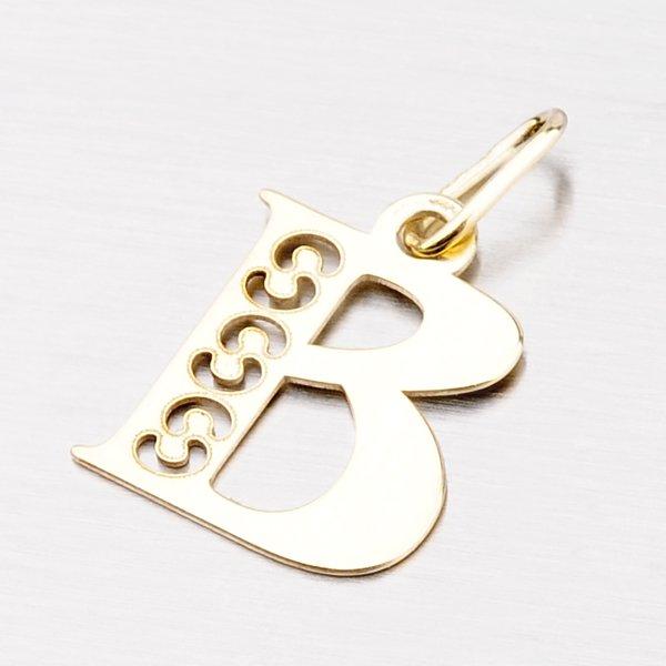 Zlaté písmenko B 442-0001-B