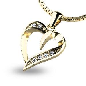 Přívěsek s diamanty 10879-ZL