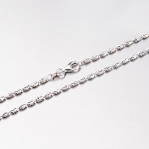 Krásný stříbrný řetízek CHRS-RICE-TYPHOON-002