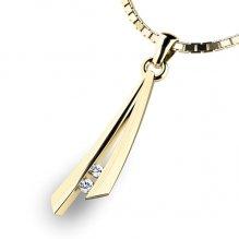 Přívěsek s diamanty 10866-ZL
