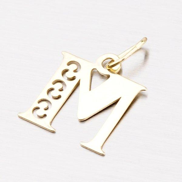 Zlaté písmenko M 442-0001-M