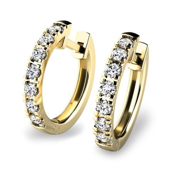 Kruhy s diamanty 10838-ZL