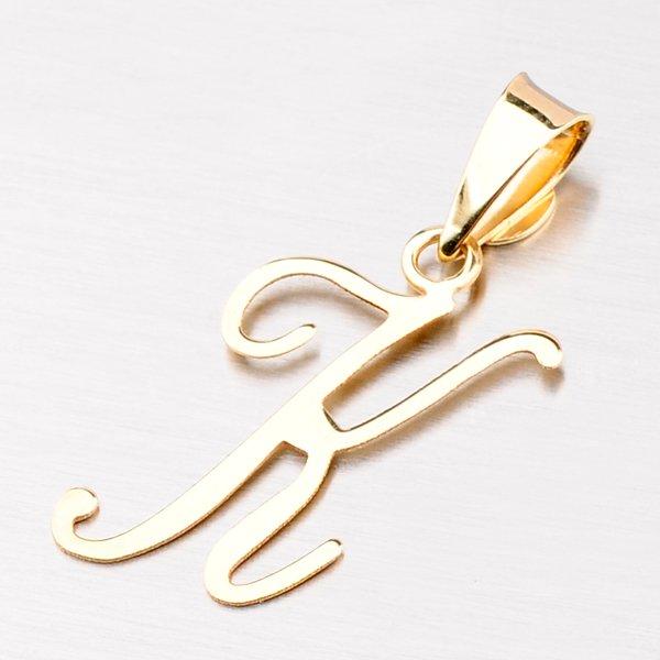 Přívěsek - zlaté písmenko K 43-2937-K