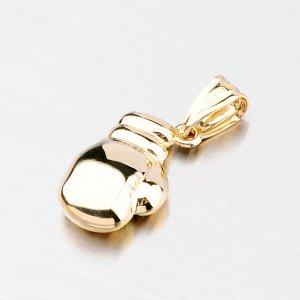 Zlatý přívěsek ve tvaru boxovací rukavice 43-2497