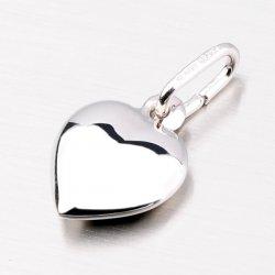 Stříbrný přívěsek ve tvaru srdce MPNL664