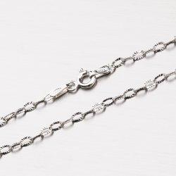 Stříbrný řetízek Anker CHRS-DROP-OVALSTAR-025