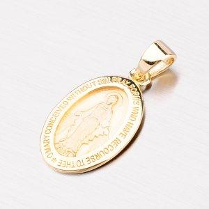 Medailonek ze zlata - Madona 43-2544
