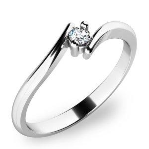 Prsten s diamantem 10846D