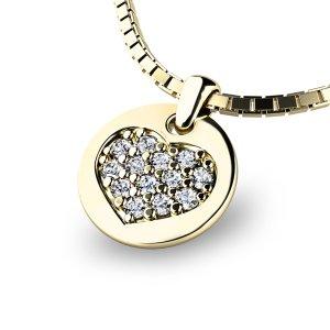 Přívěsek s diamanty 10882-ZL
